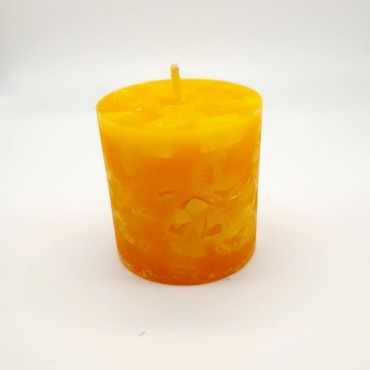 Espelma cilíndrica baixa 200g