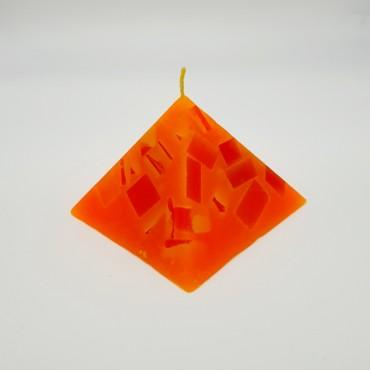 Espelma piramidal 140g